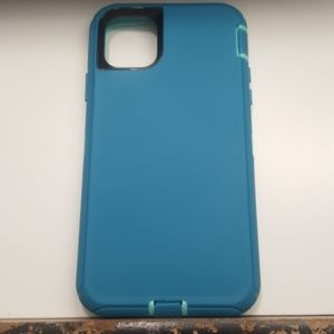"""Case for iphone 11 Pro Max 6.5""""color blue-teal new"""